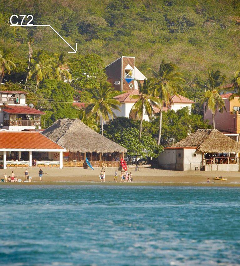 Where is located Casa72 San Juan Del Sur