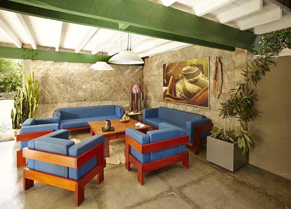 San Juan Del Sur Vacation Rental Casa 72 Open Living Room